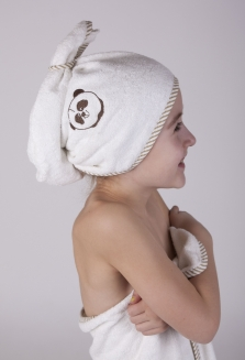 dětský turban Panda