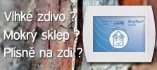 Elektronické vysoušení a trvalá izolace vlhkého zdiva - DryPol system