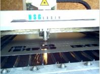 Řezání plechů laserem