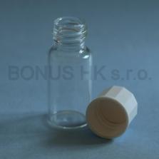 5 ml čirá lékovka s uzávěrem