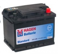AUTOBATERIE HAGEN Standard 12V 44Ah 360A
