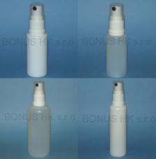 Plastové lahvičky s rozprašovačem