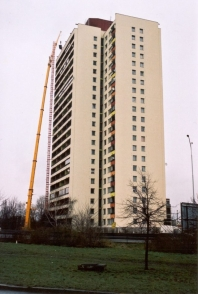 Totální rekonstrukce bytového domu v Praze
