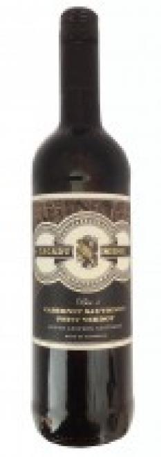 Austrálie-South Eastern, obs. 0,75 l, červené víno