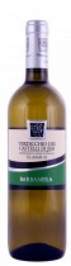 Itálie-Marche, obs. 0,75 l, bílé víno