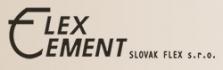 Dekoračná úprava povrchu materiálov Flex-C-Ment