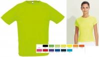 Prodyšné sportovní polyesterové tričko