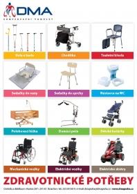 Kompenzační zdravotní pomůcky pro tělesně postižené a seniory