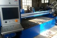 Dělení materiálu plazmovým CNC dělícím strojem
