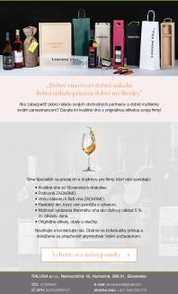 Víno pre firmy- firemné víno