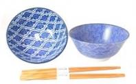 Japonské misky s hůlkami
