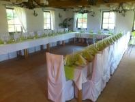 Oslavy, svatby, rauty, firemní a společenské akce - Jeseníky