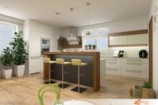 Návrh kuchyně v rodinném domě