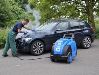 Ruční mytí aut  - dokonalé parní čištění