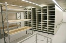 Vybavení depozitáře muzea