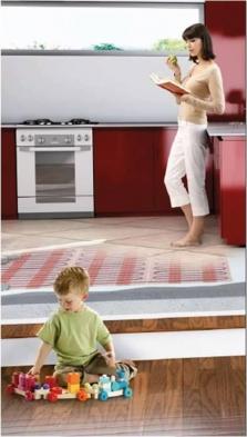 RAYCHEM - elektrické podlahové kúrenie a ochranné ohrevné káble - výhodná cena, nízke prevádzkové náklady