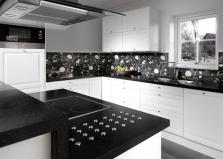 Hi-macs kuchyňské pláty, koupelnové pláty vše na míru. Lesk, vysoký lesk