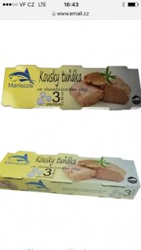Tuňák různé druhy