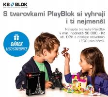 Stavebnice LEGO k nákupu tvarovek PlayBlok