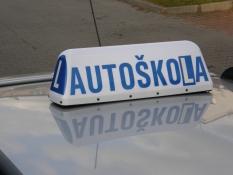 Označník autoškola