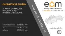 Energetika, dodávka elektriny, dodávke plynu, prípojky