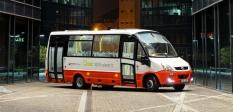 Elektromobil malý autobus midibus EVC FIRST
