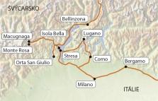 Lombardie a Piemonte se stewardy, bez nočních přejezdů