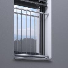 Zábradlí na francouzské okno