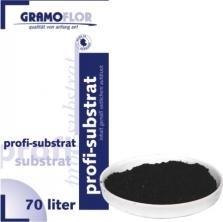 Substrát Trávnikový 70l  Gramoflor. Špičkový jemný substrát Gramoflor - Nemecko vhodný na výsev trávnika alebo ako podklad pri kladení trávneho koberca. Zloženie: 40% biela rašelina vrchovisková nemecká,60% čierna rašelina,120kg piesku/m3, 1kg/m3 PG-Mix (NPK hnojivo), ph vo vode 6-6,5. Bez burín. Overená kvalita!