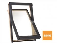 Střešní okna Rooflite dřevěné s klapkou