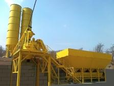 Stacionární betonárny
