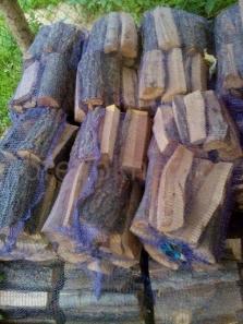 pytlované dřevo