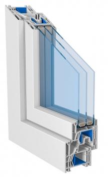 Vícekomorová plastová okna