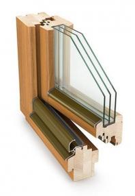 Dřevěná (eurookna) okna