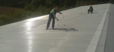 Oprava ocelové střechy