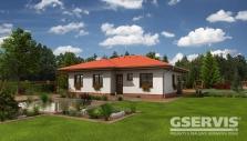 Rodinné domy na klíč KM Dřevostavby