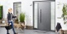 Hliníkové domové dvere ThermoSafe sériovo v RC 3