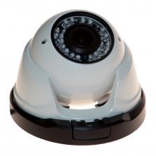 IP bezpečnostní kamera v masivním kovovém DOME krytu, 720P ONVIF