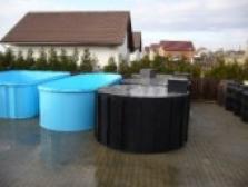 Filtrační šachty a bazénové jímky pro plastové bazény