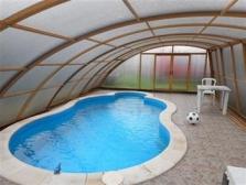 Zastřešení bazénu - OLBEST