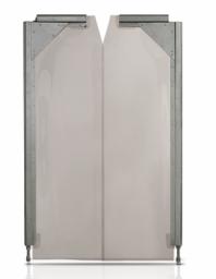PVC kyvné dvere
