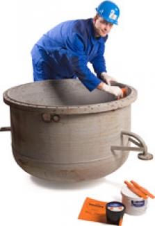Doplňování materiálů plastickým kovem
