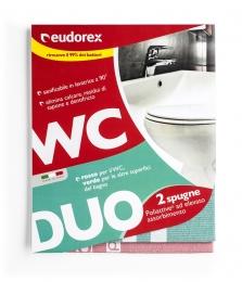 EUDOREX WC DUO houbové utěrky do koupelny a WC