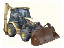 Náhradní díly na traktorbagry