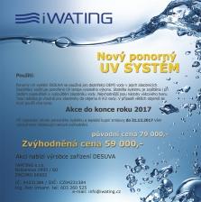 Nový ponorný UV systém pro dezinfekci vody