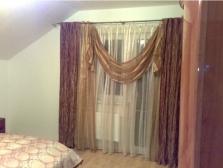 Dekorační textilie, záclony, garnýže, stínící technika, ložní prádlo