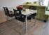 Kovové jídelní a kancelářské stoly z hliníku