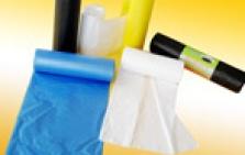 Plastové sáčky, pytle a tašky