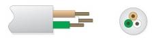 Kulaté provedení kabelu LiYY