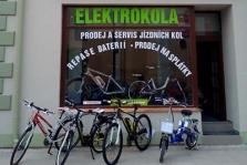 Prodej elektro-kol, jízdních kol, koloběžek, elektro-koloběžek